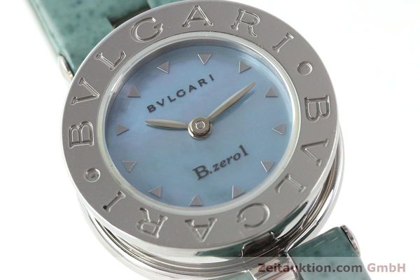 Used luxury watch Bvlgari Bzero steel quartz Kal. 100110771 TEEI Ref. BZ22S VINTAGE  | 140563 02