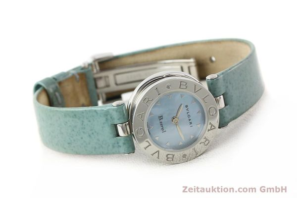 Used luxury watch Bvlgari Bzero steel quartz Kal. 100110771 TEEI Ref. BZ22S VINTAGE  | 140563 03