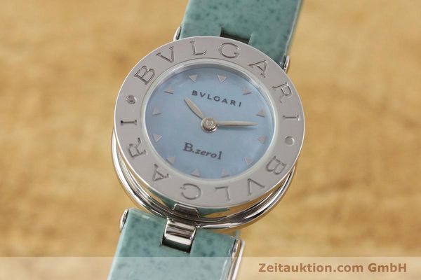 Used luxury watch Bvlgari Bzero steel quartz Kal. 100110771 TEEI Ref. BZ22S VINTAGE  | 140563 04