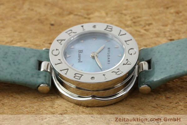 Used luxury watch Bvlgari Bzero steel quartz Kal. 100110771 TEEI Ref. BZ22S VINTAGE  | 140563 05