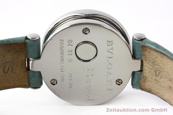 Used luxury watch Bvlgari Bzero steel quartz Kal. 100110771 TEEI Ref. BZ22S VINTAGE  | 140563 08