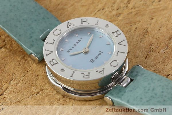 Used luxury watch Bvlgari Bzero steel quartz Kal. 100110771 TEEI Ref. BZ22S VINTAGE  | 140563 11