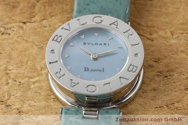 Used luxury watch Bvlgari Bzero steel quartz Kal. 100110771 TEEI Ref. BZ22S VINTAGE  | 140563 12