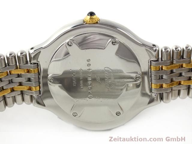 Used luxury watch Cartier Ligne 21 gilt steel quartz Kal. 87.06  | 140565 09