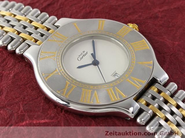 Used luxury watch Cartier Ligne 21 gilt steel quartz Kal. 87.06  | 140565 11