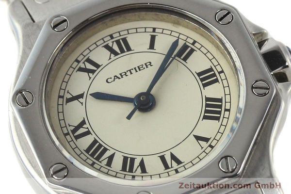Used luxury watch Cartier Santos steel automatic  | 140568 02