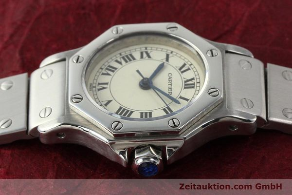 Used luxury watch Cartier Santos steel automatic  | 140568 05