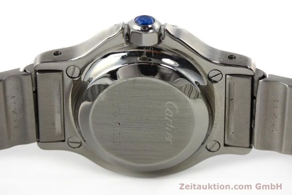 Used luxury watch Cartier Santos steel automatic  | 140568 09