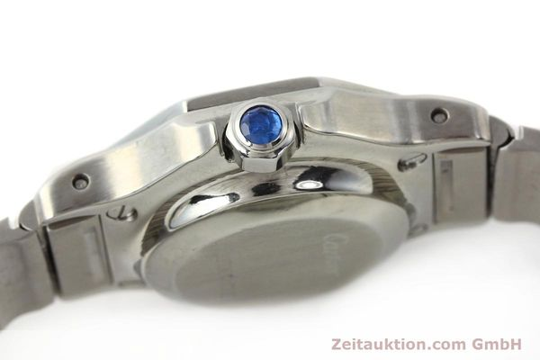 Used luxury watch Cartier Santos steel automatic  | 140568 11