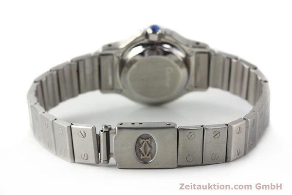 Used luxury watch Cartier Santos steel automatic  | 140568 12