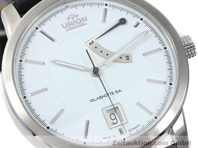 montre de luxe d occasion Union Glashütte * acier automatique Kal. 26  | 140569 02