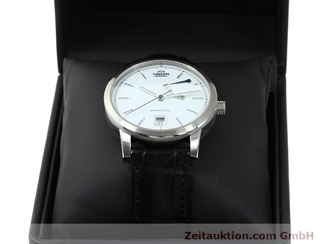 montre de luxe d occasion Union Glashütte * acier automatique Kal. 26  | 140569 07