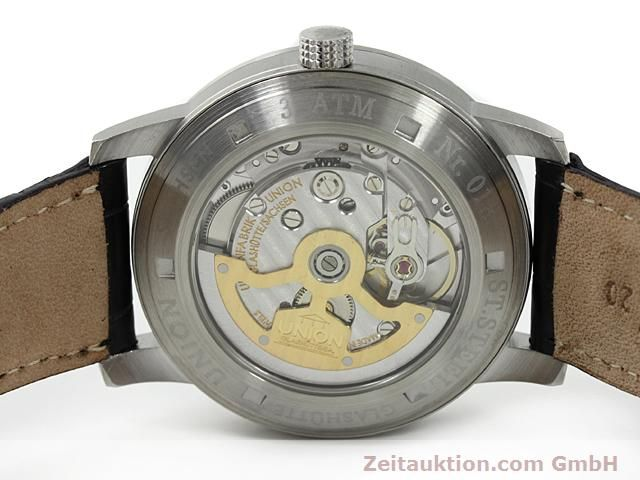 montre de luxe d occasion Union Glashütte * acier automatique Kal. 26  | 140569 09