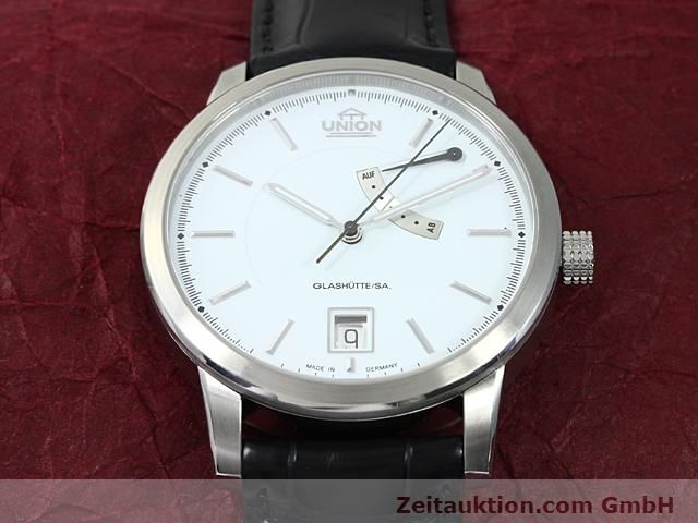 montre de luxe d occasion Union Glashütte * acier automatique Kal. 26  | 140569 13