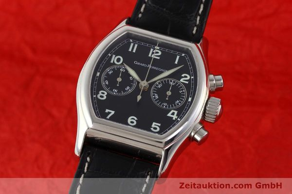 Used luxury watch Girard Perregaux Richeville steel manual winding Kal. LWO 1872 Ref. 2710  | 140570 04