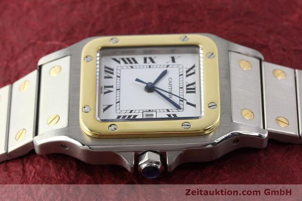 Used luxury watch Cartier Santos steel / gold automatic  | 140571 05