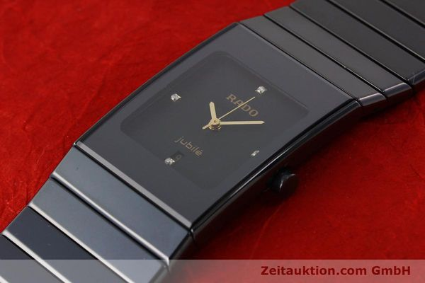 Used luxury watch Rado Jubile ceramic / steel quartz Ref. 111.0322.3  | 140572 01