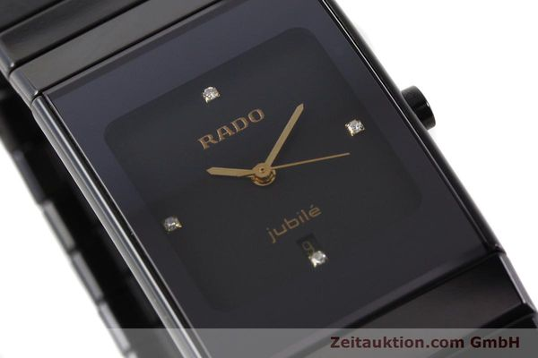 Used luxury watch Rado Jubile ceramic / steel quartz Ref. 111.0322.3  | 140572 02