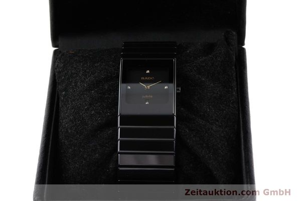 Used luxury watch Rado Jubile ceramic / steel quartz Ref. 111.0322.3  | 140572 07
