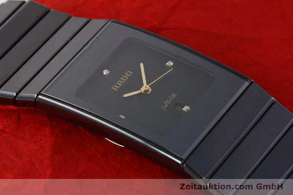 Used luxury watch Rado Jubile ceramic / steel quartz Ref. 111.0322.3  | 140572 12