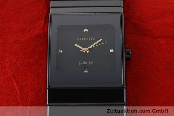 Used luxury watch Rado Jubile ceramic / steel quartz Ref. 111.0322.3  | 140572 13