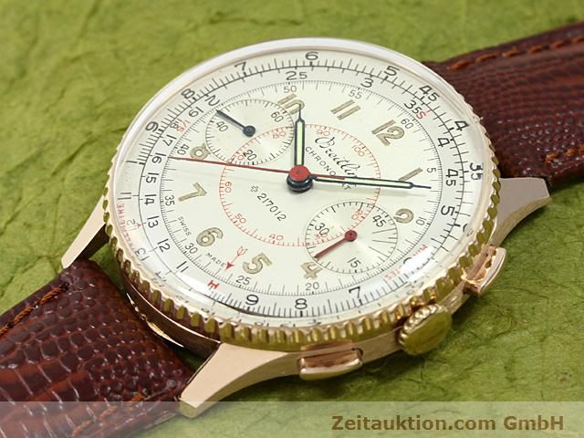 Used luxury watch Breitling Chronomat 18 ct gold manual winding Kal. 217012 Ref. 671671  | 140575 01
