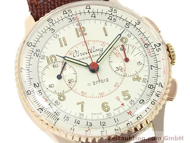 Used luxury watch Breitling Chronomat 18 ct gold manual winding Kal. 217012 Ref. 671671  | 140575 02