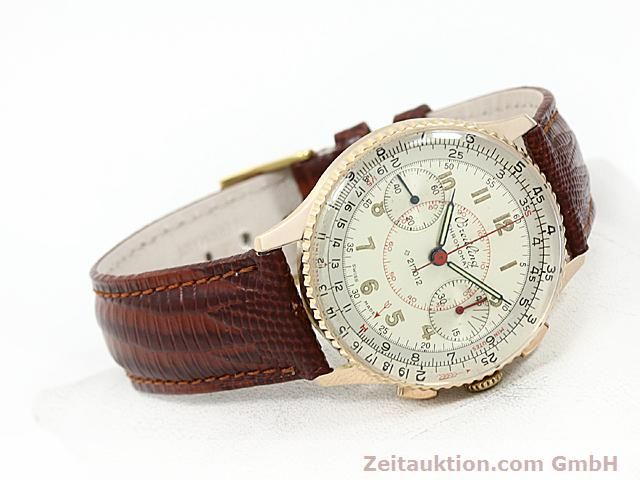 Used luxury watch Breitling Chronomat 18 ct gold manual winding Kal. 217012 Ref. 671671  | 140575 03