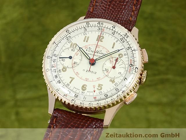 Used luxury watch Breitling Chronomat 18 ct gold manual winding Kal. 217012 Ref. 671671  | 140575 04