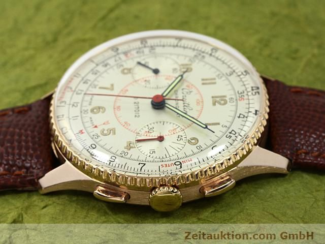 Used luxury watch Breitling Chronomat 18 ct gold manual winding Kal. 217012 Ref. 671671  | 140575 05