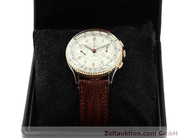 Used luxury watch Breitling Chronomat 18 ct gold manual winding Kal. 217012 Ref. 671671  | 140575 07