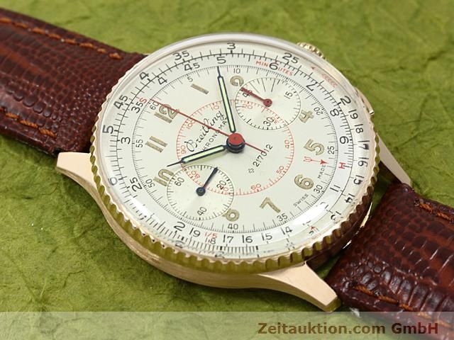 Used luxury watch Breitling Chronomat 18 ct gold manual winding Kal. 217012 Ref. 671671  | 140575 12