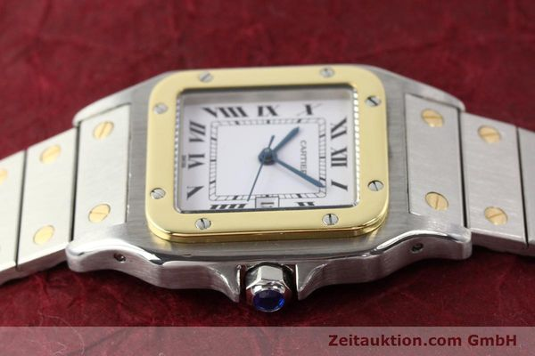 Used luxury watch Cartier Santos steel / gold automatic  | 140578 05