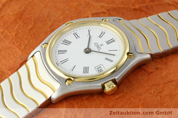 Used luxury watch Ebel Classic Wave steel / gold quartz Ref. 184908  | 140579 01