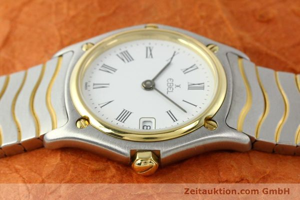 Used luxury watch Ebel Classic Wave steel / gold quartz Ref. 184908  | 140579 05