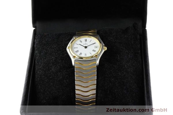 Used luxury watch Ebel Classic Wave steel / gold quartz Ref. 184908  | 140579 07