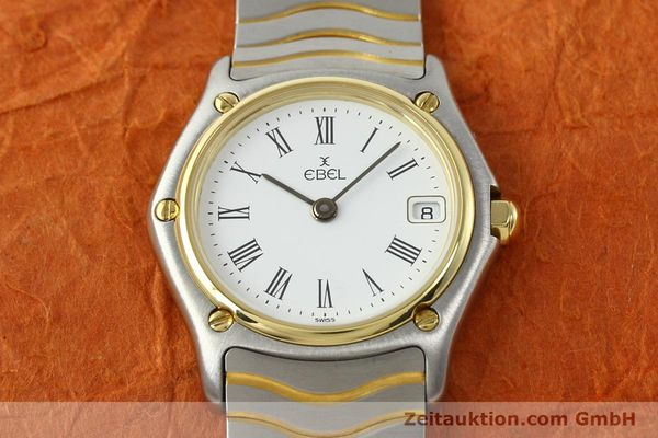 Used luxury watch Ebel Classic Wave steel / gold quartz Ref. 184908  | 140579 13