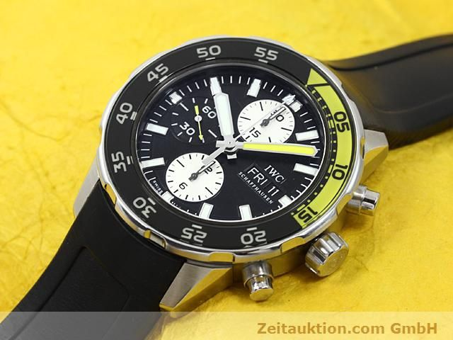 Used luxury watch IWC Aquatimer steel automatic Kal. C.79320 Ref. 3767  | 140580 01