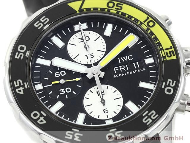 Used luxury watch IWC Aquatimer steel automatic Kal. C.79320 Ref. 3767  | 140580 02