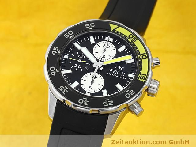 Used luxury watch IWC Aquatimer steel automatic Kal. C.79320 Ref. 3767  | 140580 04