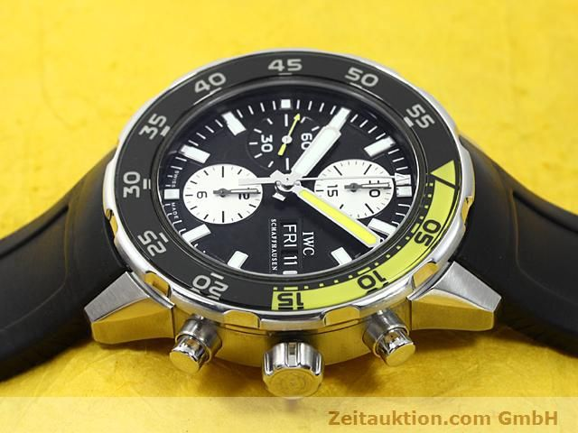 Used luxury watch IWC Aquatimer steel automatic Kal. C.79320 Ref. 3767  | 140580 05