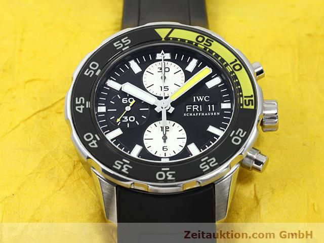 Used luxury watch IWC Aquatimer steel automatic Kal. C.79320 Ref. 3767  | 140580 17
