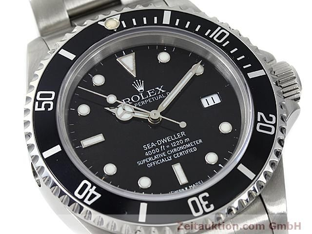 Used luxury watch Rolex Sea Dweller steel automatic Kal. 3135 Ref. 16600  | 140582 02