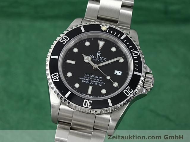 Used luxury watch Rolex Sea Dweller steel automatic Kal. 3135 Ref. 16600  | 140582 04
