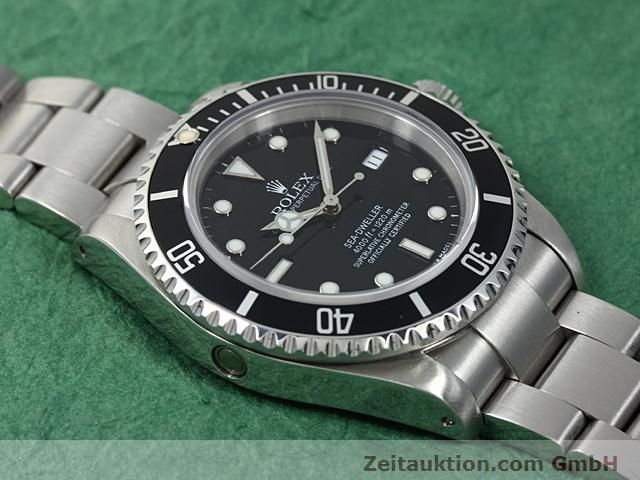 Used luxury watch Rolex Sea Dweller steel automatic Kal. 3135 Ref. 16600  | 140582 14