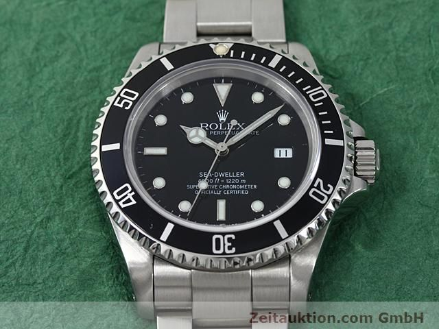 Used luxury watch Rolex Sea Dweller steel automatic Kal. 3135 Ref. 16600  | 140582 15