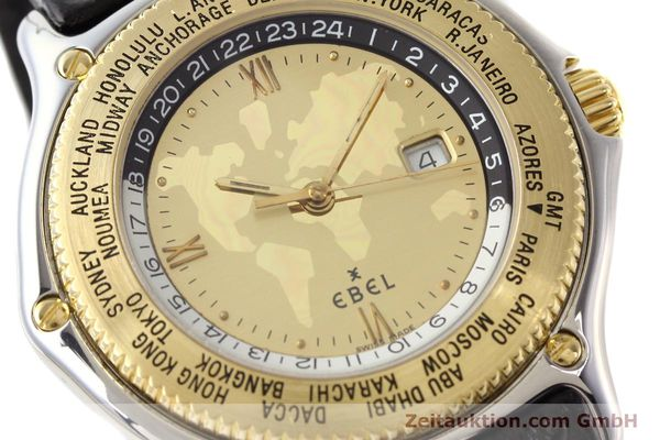 Used luxury watch Ebel Voyager steel / gold automatic Ref. 1124913  | 140583 02