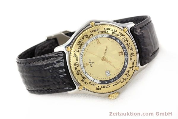 Used luxury watch Ebel Voyager steel / gold automatic Ref. 1124913  | 140583 03