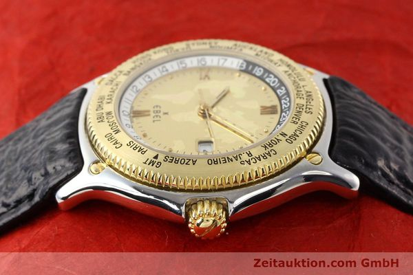 Used luxury watch Ebel Voyager steel / gold automatic Ref. 1124913  | 140583 05
