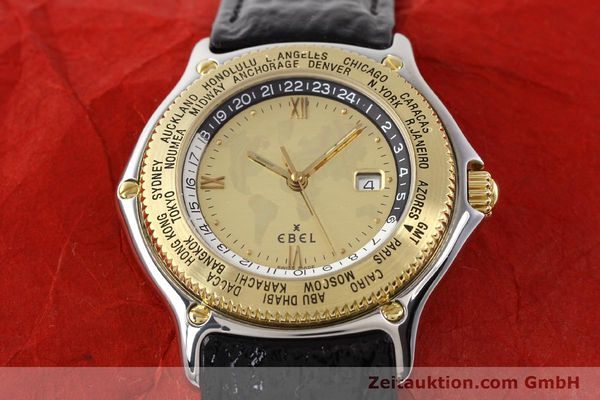 Used luxury watch Ebel Voyager steel / gold automatic Ref. 1124913  | 140583 16